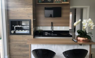 Área Gourmet Interiores M.J. Buona Vita